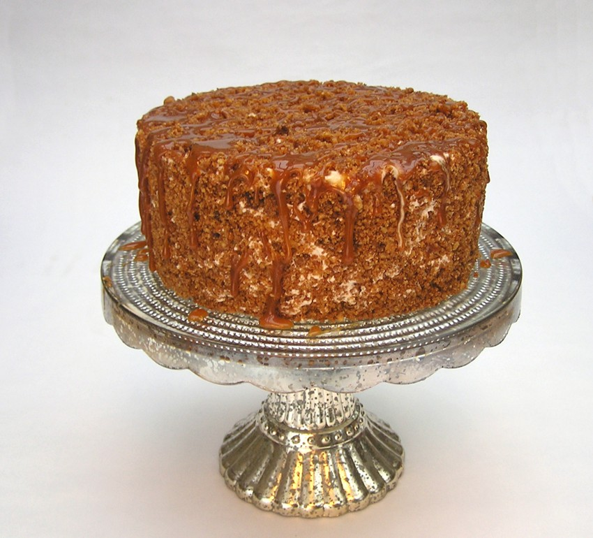 Pumpkin cake crunchy Kürbis Kuchen