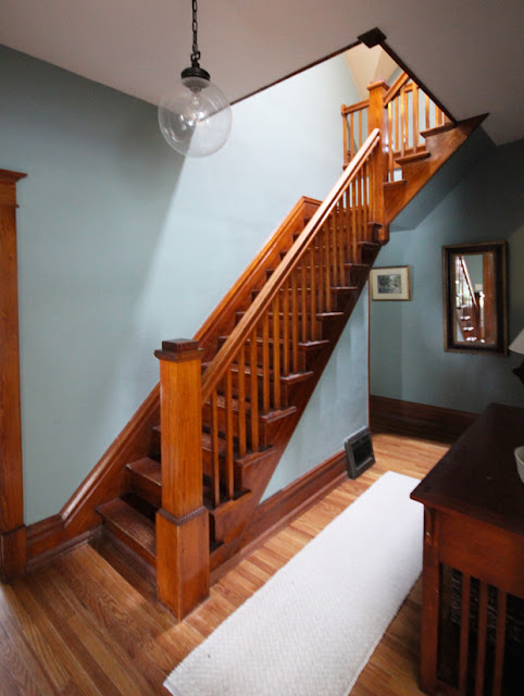 Dulcious Stratton Blue In The Front Hall