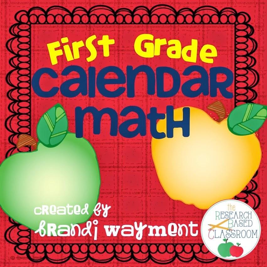 Calendar Math Ideas First Grade : First grade calendar math routine
