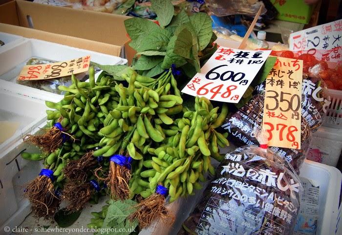 The outer market - Tsukiji Fish Market - Tokyo, Japan