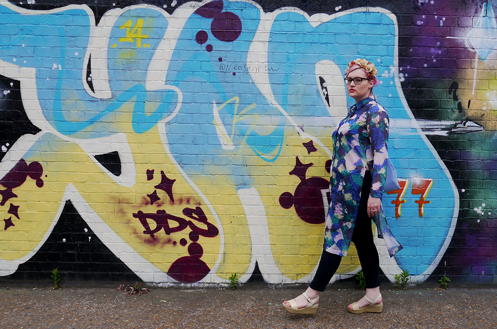 graffiti art, fashion, scotstreetstyle, London, Spitalfields Market, 2015, graphic print, fashion blogger, Brick Lane, Box Park, street style, photography, blog