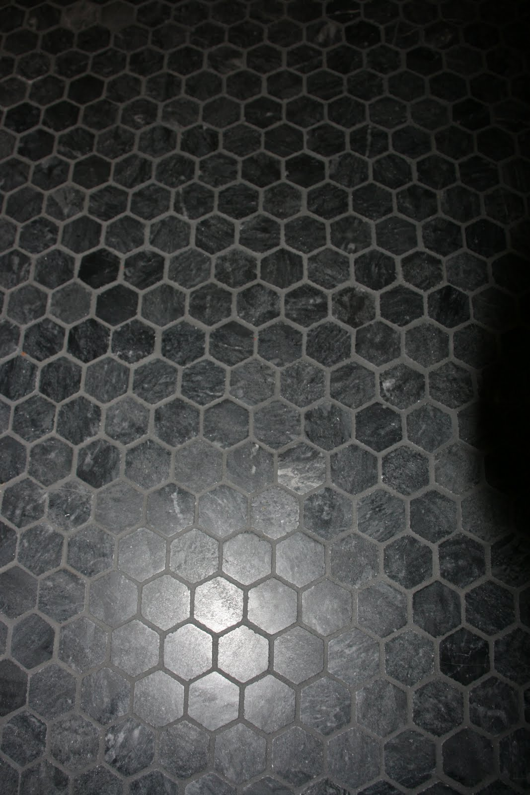 100 Black Marble Flooring Office Worke Mo Mosaic Floor Tile Hexagonal 1