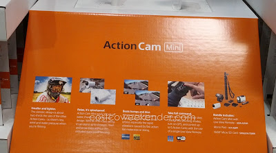 Sony HDR-AZ1VR Action Cam Mini bundle comes with memory card, case, monopod