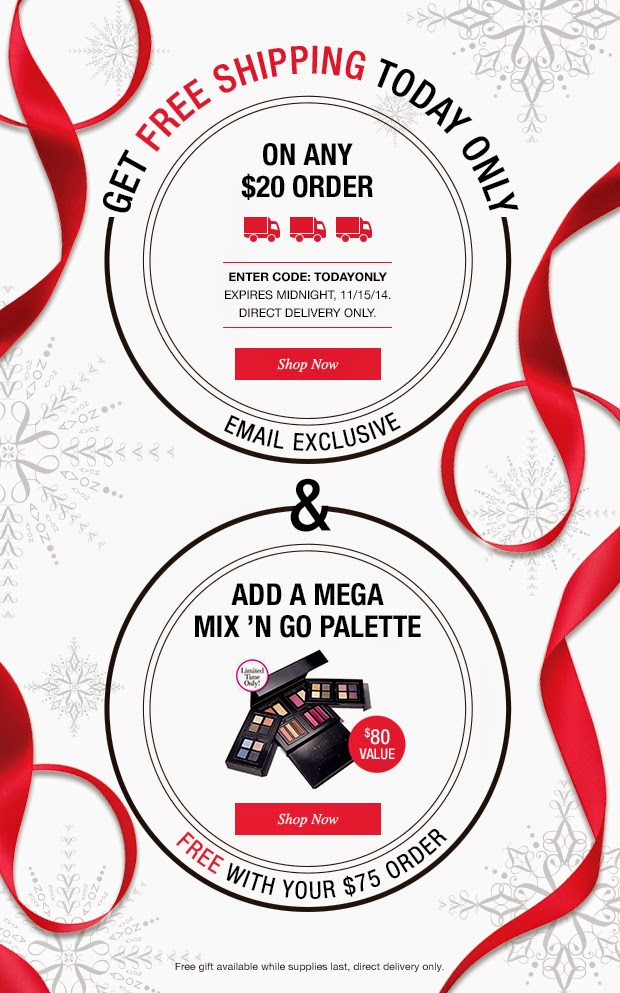 Free Avon Shipping Today Only - 11/15/14