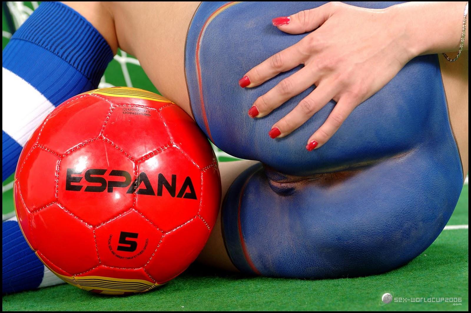 espana body painting art women
