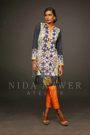 Nida Azwer Eid Collection 2014 Vol-2