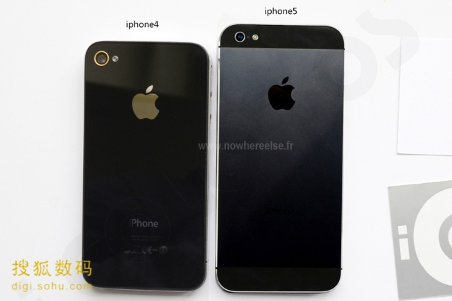 iphone 5 metal back housing leaked photo