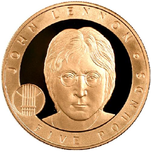 The Beatles Polska: John Lennon na brytyjskiej monecie