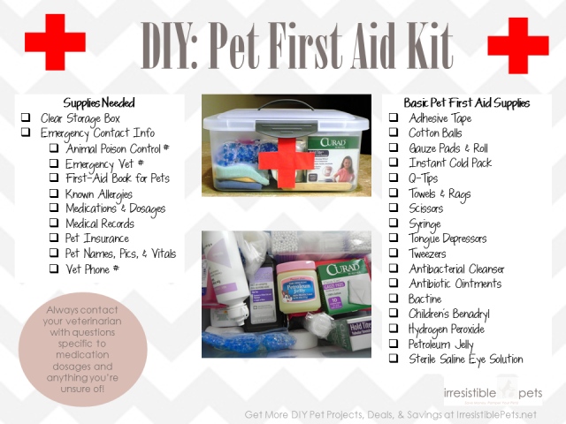 k9 1 on 1 diy first aid kits for pets