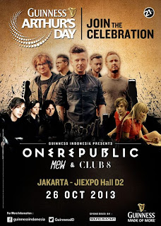 Konser Guinness Arthur Day