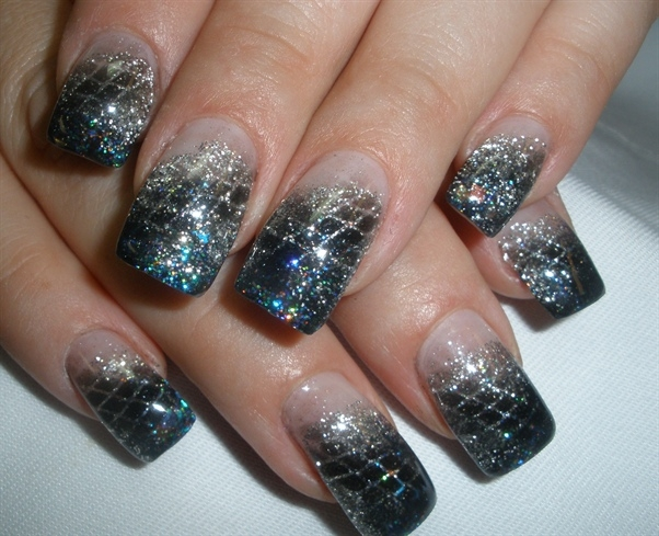... nail designs colorful glitter nail designs beautiful nail designs