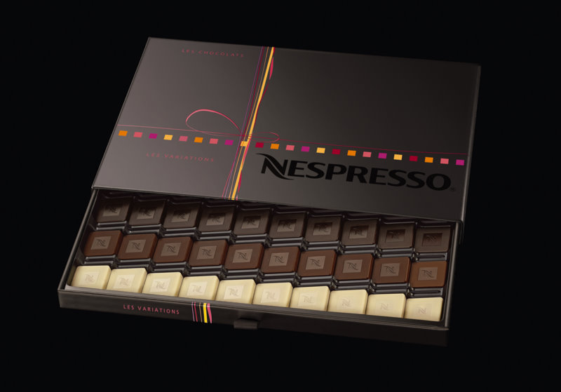 nespresso machine chocolate