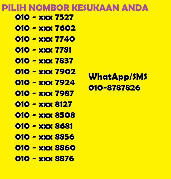 nombor onexox baru