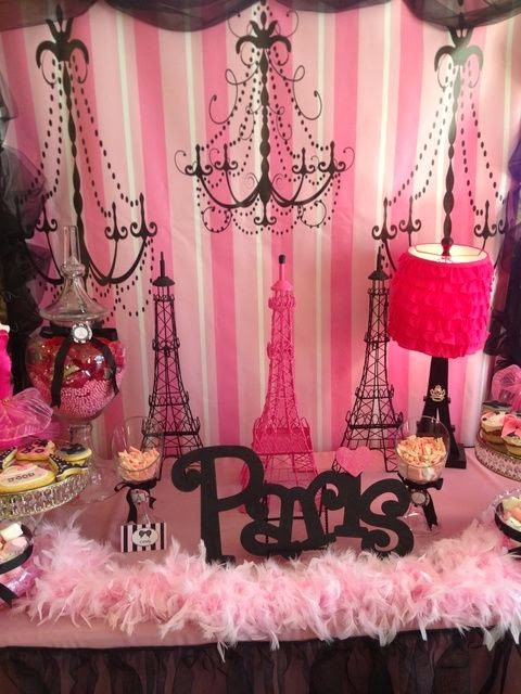 festa de 15 anos com tema paris fotos de decora o toda atual. Black Bedroom Furniture Sets. Home Design Ideas