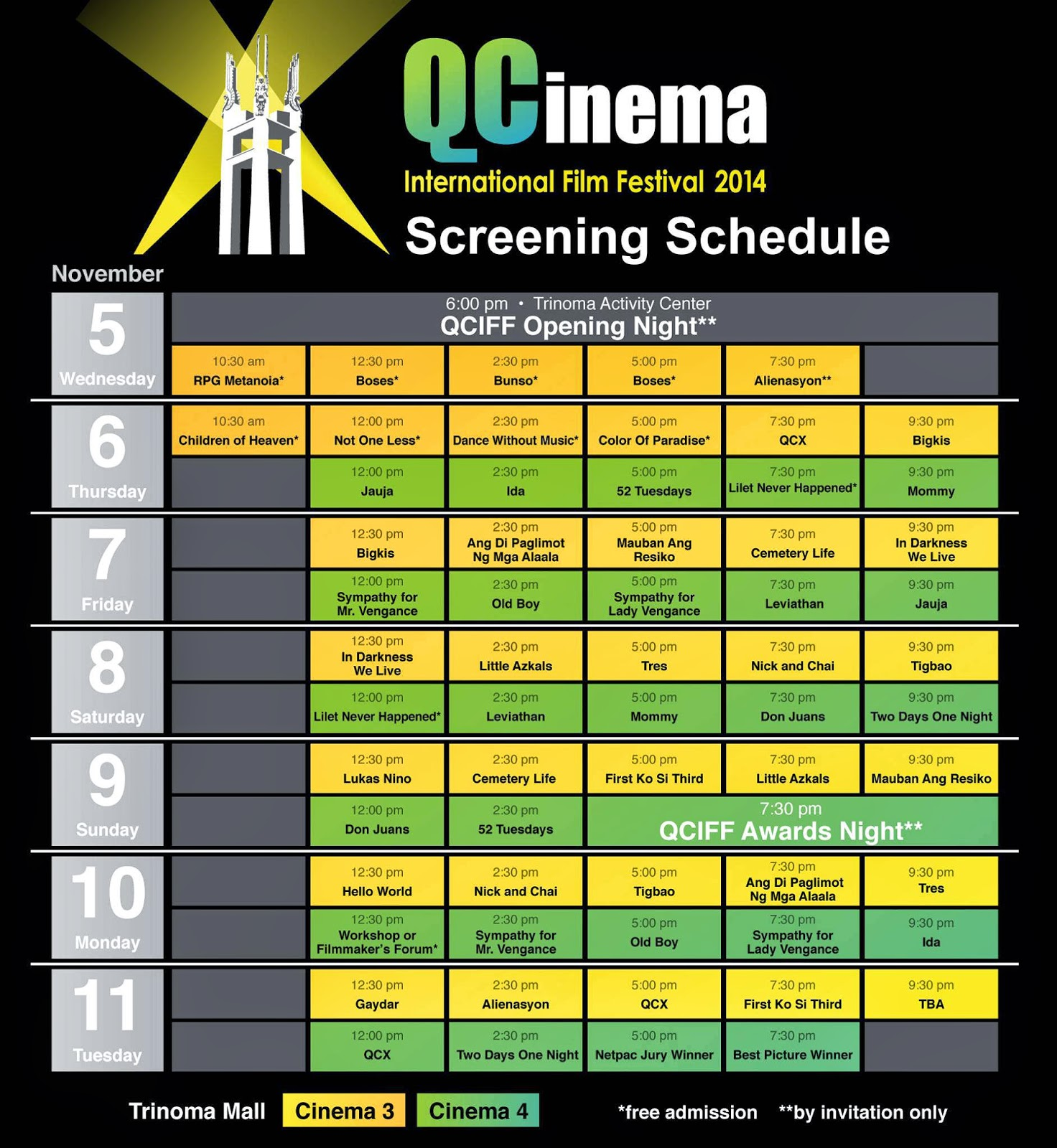 QCinema International Film Festival 2014