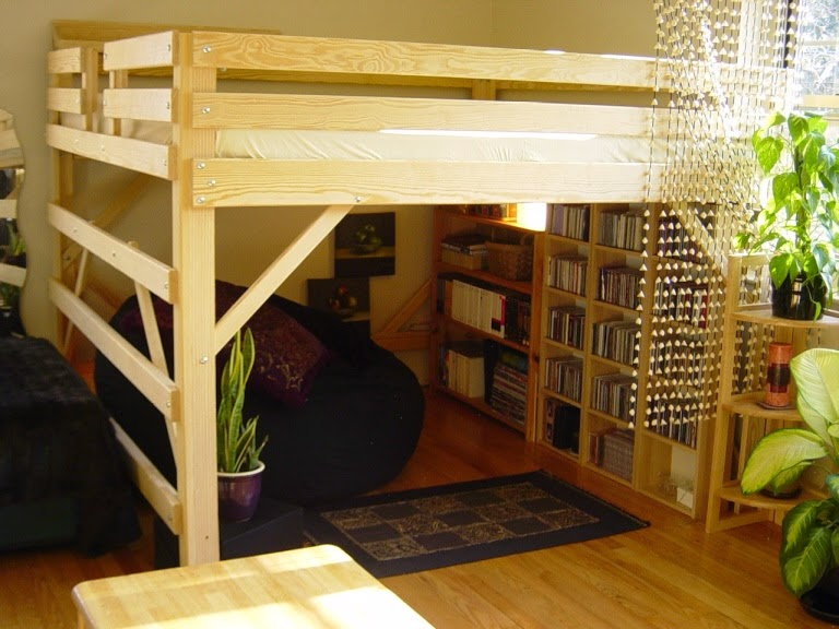Adult Loft Bed With Storage
