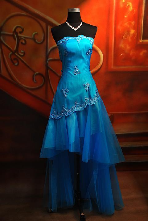 blue prom dresses