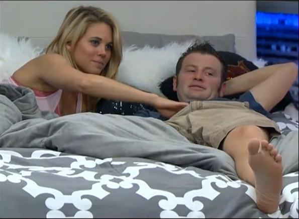 Aaryn flirting with Judd