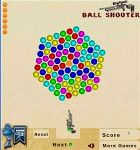game ball shooter