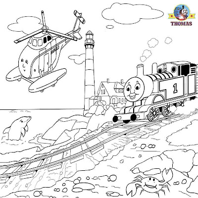 Harold the helicopter Thomas coloring pictures to print and color summer kids activities worksheets