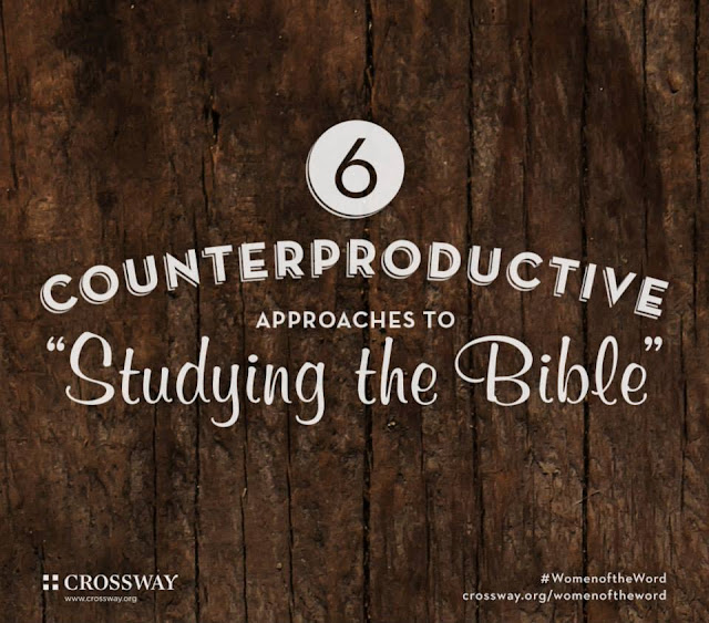 Couterproductive bible study habits