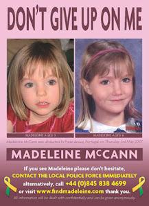 . : RIP, Little Maddie : . apelo à não distribuição destes panfletos : .