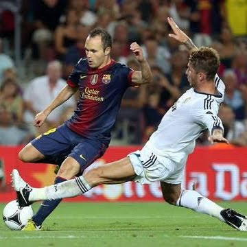 FC Barcelona Real Madrid 3-2 goles Supercopa 2012