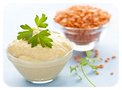 A Bowl of Houmous