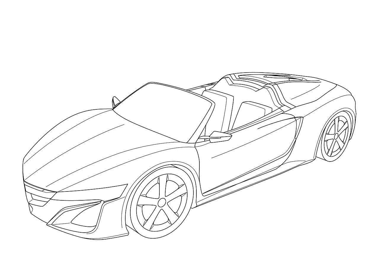 acura nsx roadster concept photos