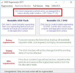 HDD Regenerator hispasoftware