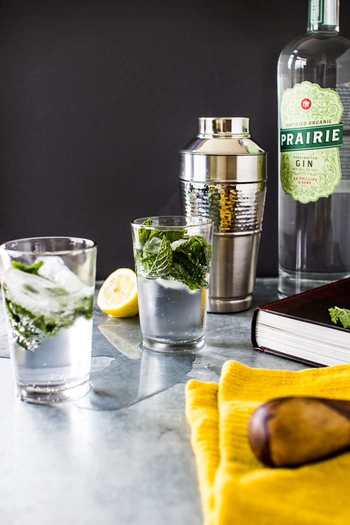 Flourishing Foodie: Southside Cocktail - The 21 Club Signature Drink