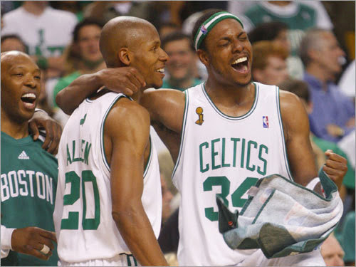 Ray Allen and Paul Pierce joining forces in Washington?