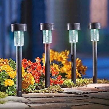 luces led baratas, donde comprar leds baratos, leds jardín, iluminación solar para jardín, jardines iluminados led