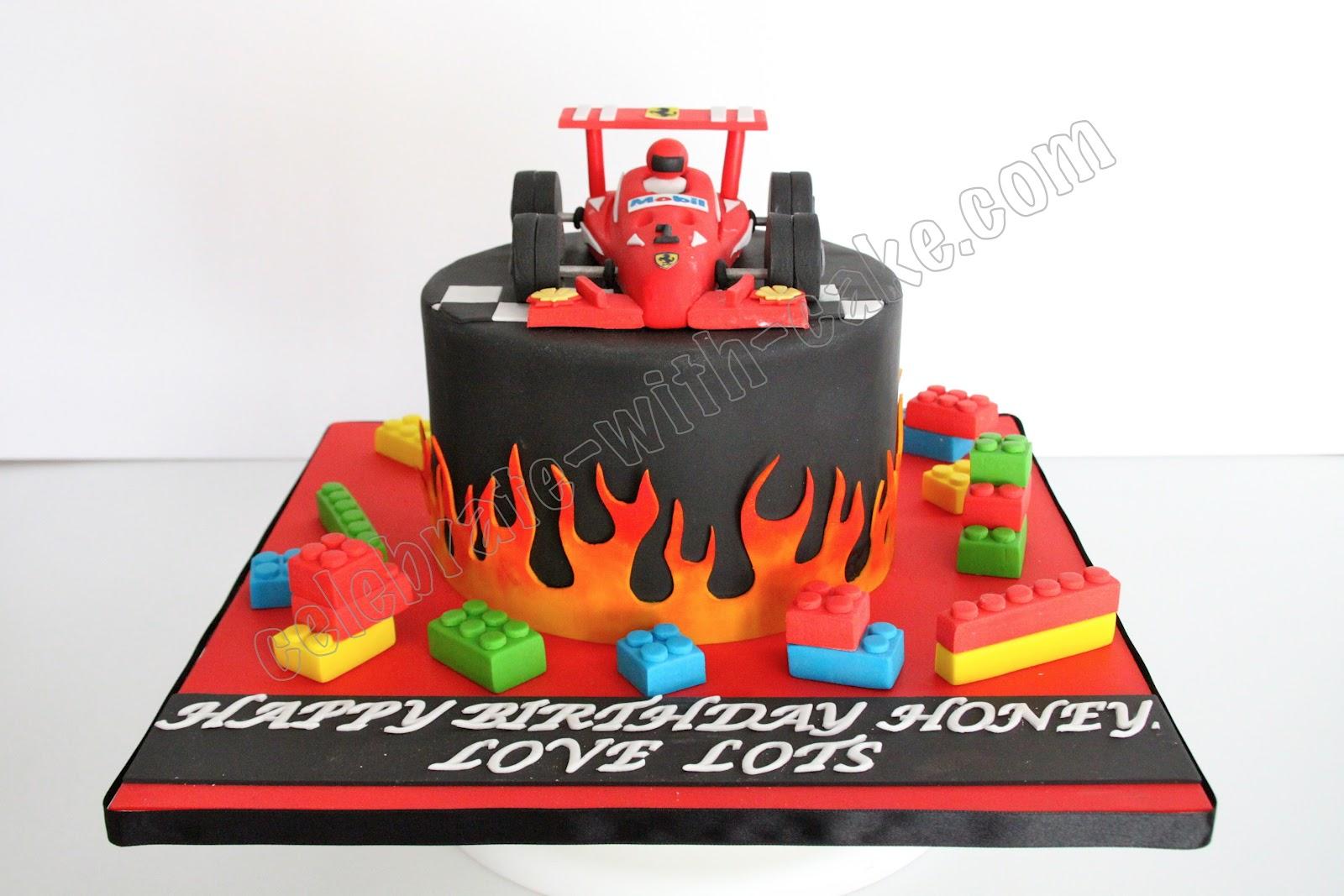 Car template for autos weblog for F1 car cake template