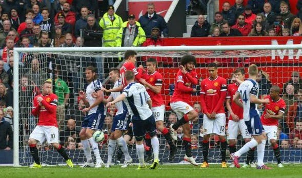 Results : Manchester United 0-1 West Bromwich