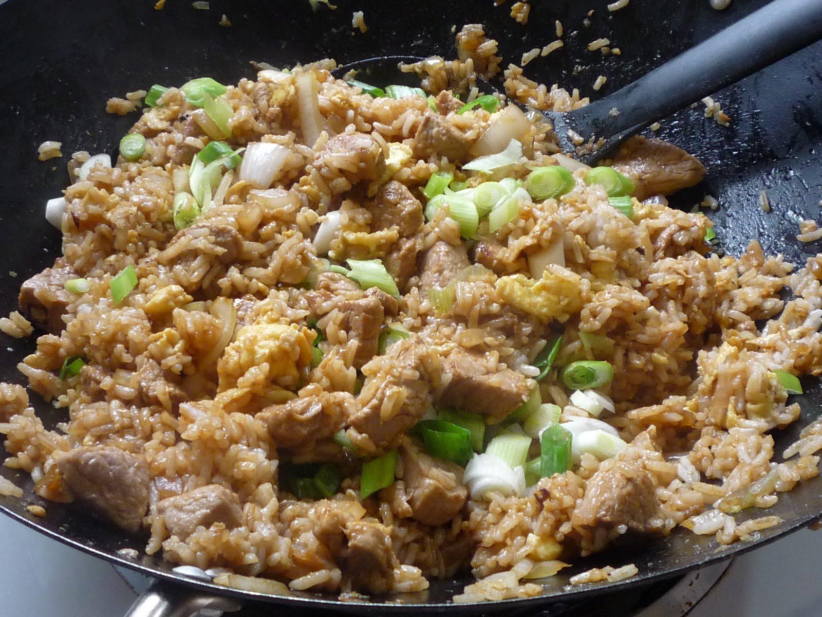 A1 SAMAIYAL: Pork fried rice