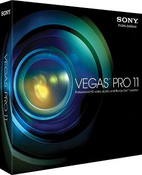 Capa Sony Vegas Pro v11 (x64 & x86) + Serial