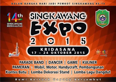 Photo Banner Singkawang Expo