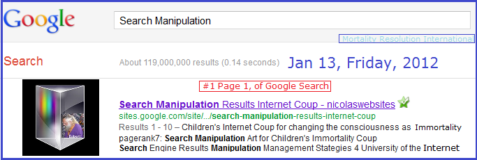 SearchManipulation.Com is a University of the Internet website