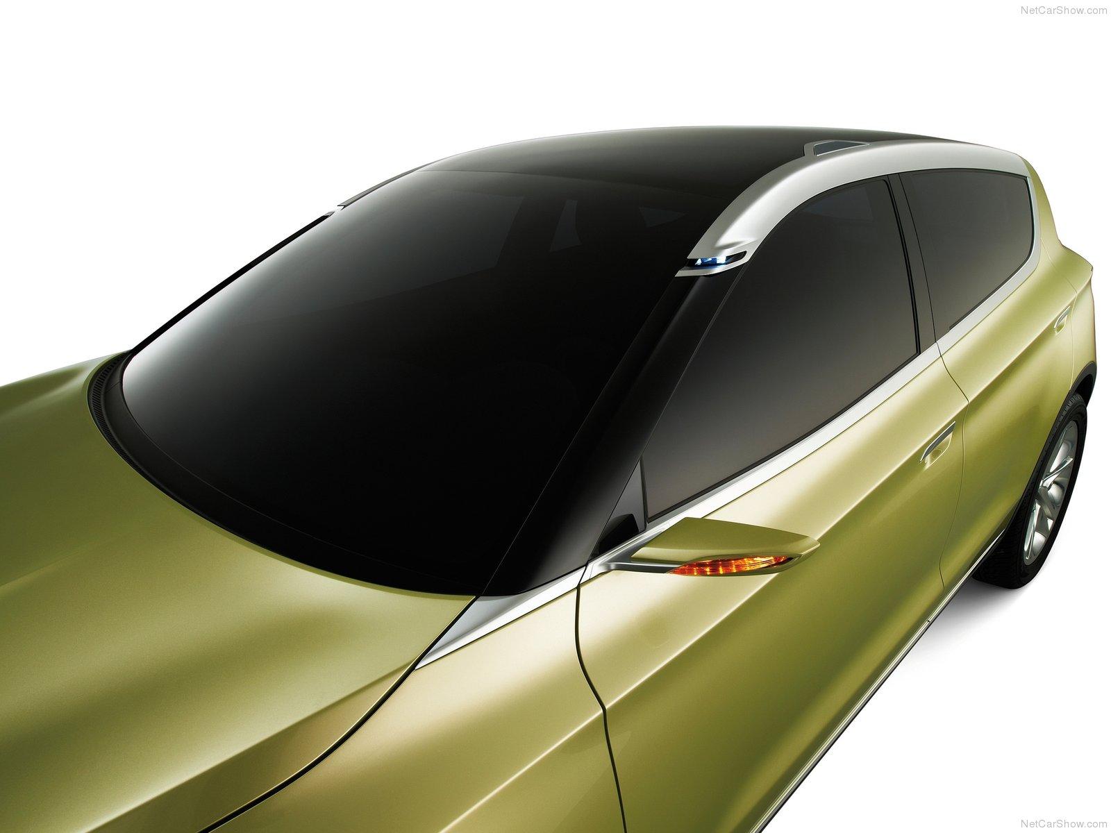 Hình ảnh xe ô tô Suzuki S-Cross Concept 2012 & nội ngoại thất