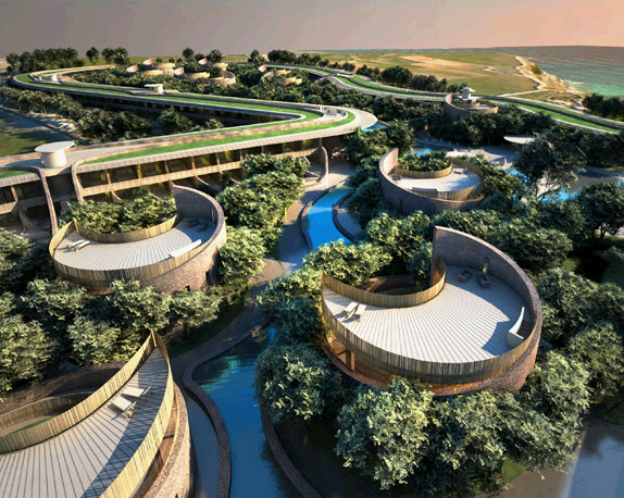 Organic Architecture Oasis