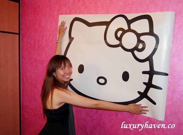 nippon paint momento hello kitty artwork