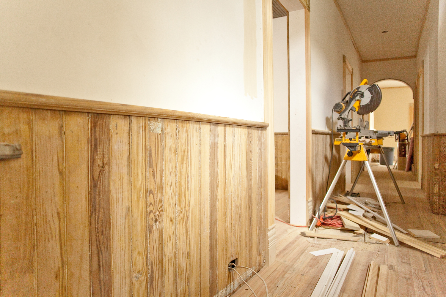Pictures of wainscoting in