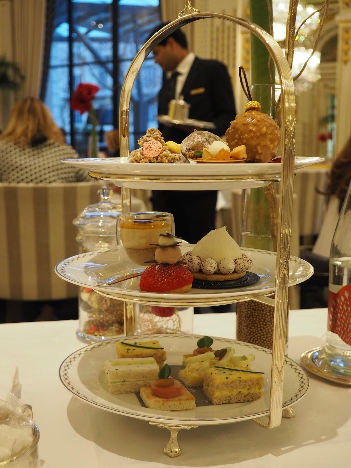 Peninsula Hotel, Paris, Afternoon Tea