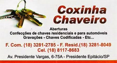 Coxinha Chaveiro