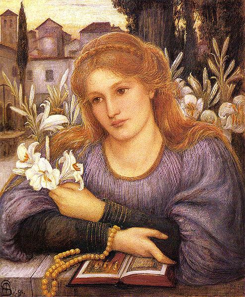 marie spartali stillman lily