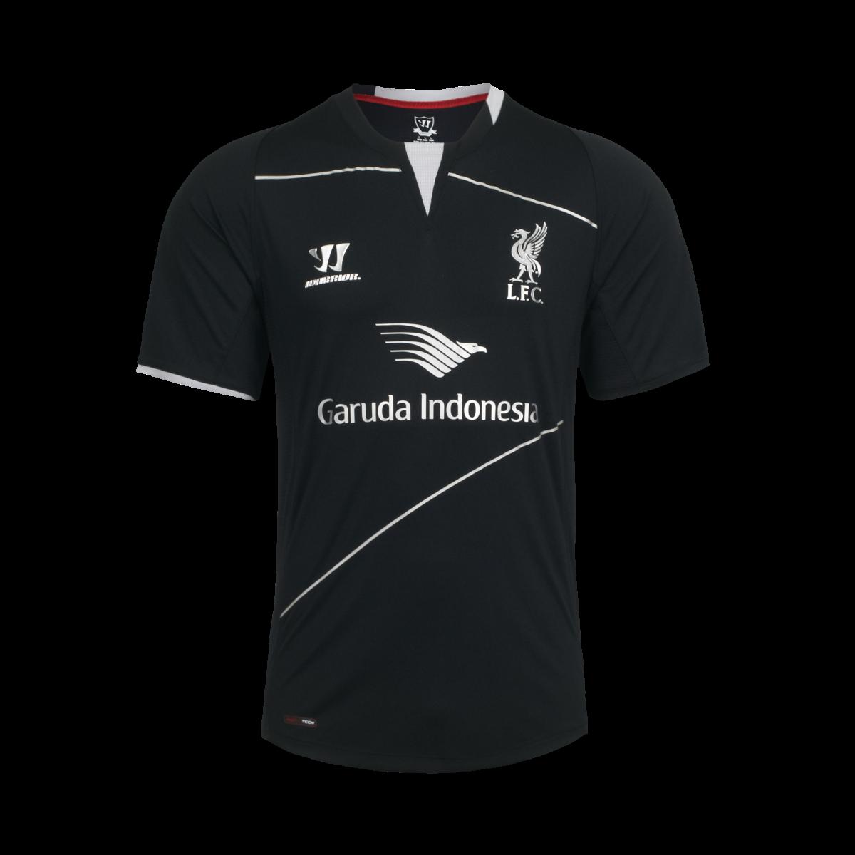 jersey liverpool garuda indonesia 2015 hitam