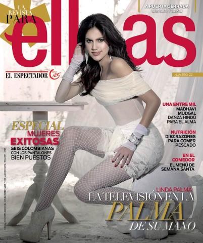 Linda Palma portada revista Ellas marzo 2012 presentadora de Yo Me ...