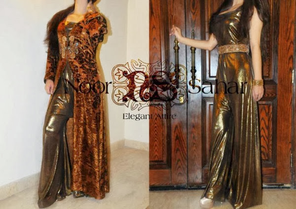 Noor Sahar Party Wear Dresses 2013-14 Formal For Women & Girls