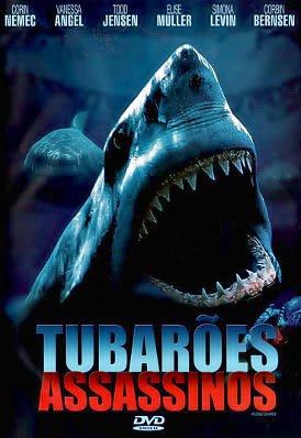 Filme Poster Tubarões Assassinos DVDRip XviD & RMVB Dublado